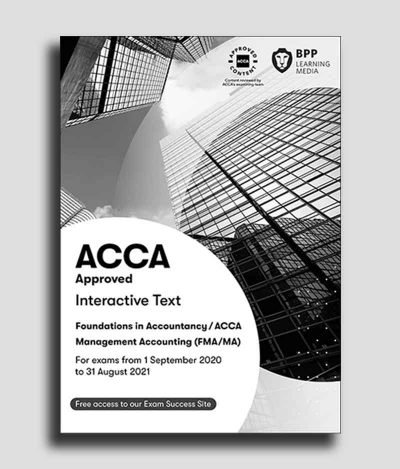 BPP ACCA F2 Management Accounting MA Study Text 2020 2021