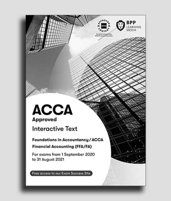 BPP ACCA F3 Financial Accounting FAStudy Text 2020 2021