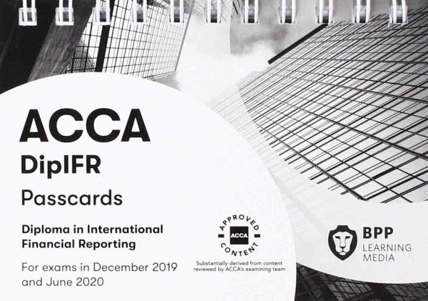 BPP Diploma in International Financial Reporting Passcards