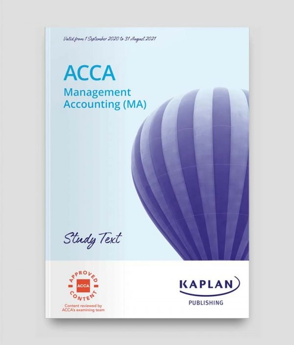 KAPLAN ACCA F2 Management Accounting Study Text 2021