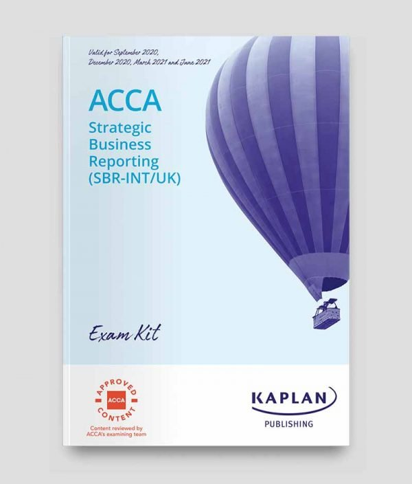 KAPLAN ACCA Strategic Business Reporting Exam Kit 2020-2021