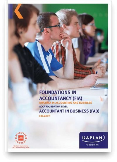 exam kit fia accountant in business fab f1