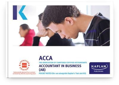 pocket notes acca fundamentals accountant in business ab