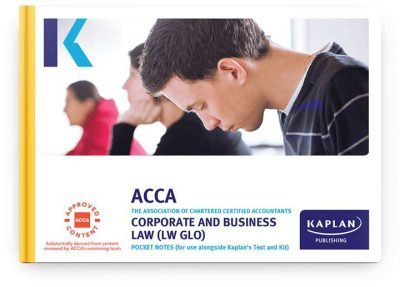 pocket notes acca fundamentals corporate and business law global lw glo