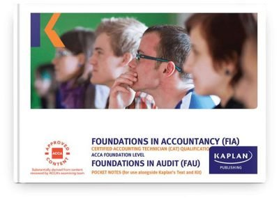 pocket notes fia foundations in audit fau