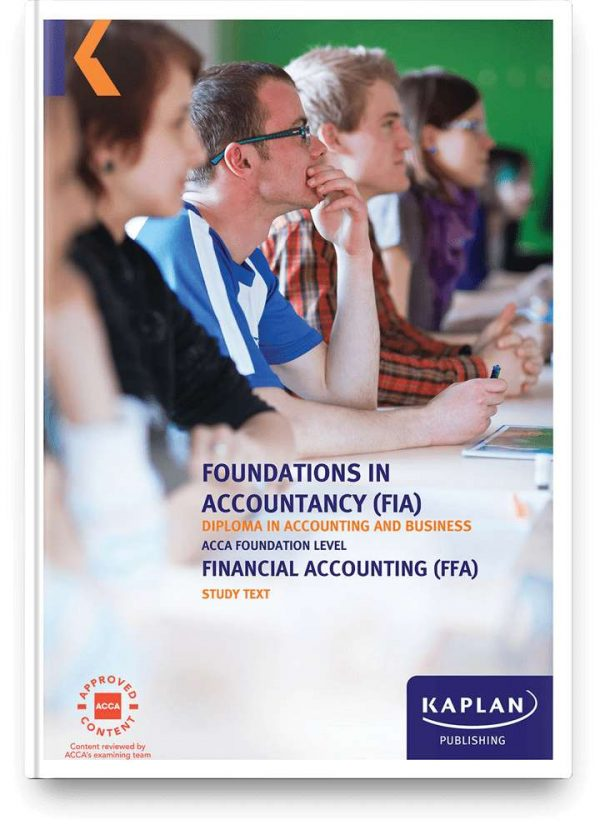 study text fia financial accounting ffa f3 2x