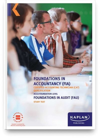 study text fia foundations in audit fau