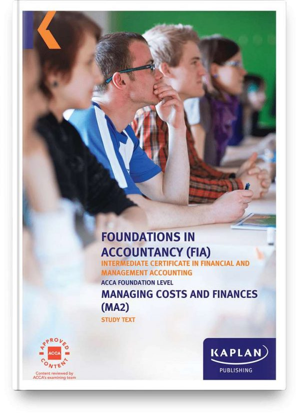 study text fia managing costs and finance ma2 2x