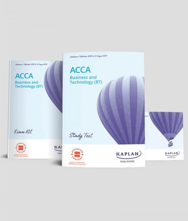 KAPLAN ACCA F1 Business and Technology (BT) Bundle