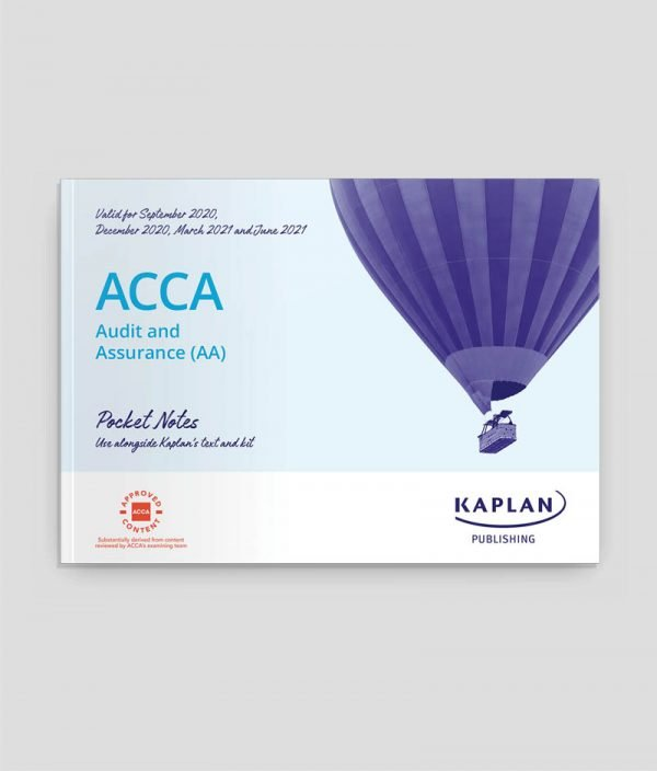 Kaplan ACCA F8 Audit and Assurance (AA) Pocket Notes
