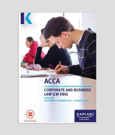 KAPLAN ACCA F4 Corporate & Business Law (ENG) Study Text