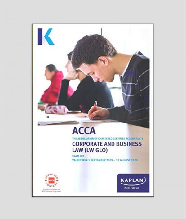KAPLAN ACCA F4 Corporate & Business Law (LW-ENG) Exam Kit