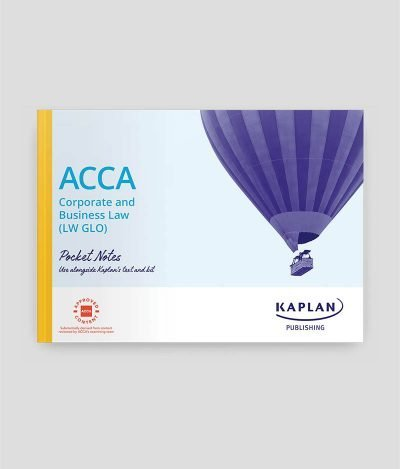 Kaplan ACCA F4 Corporate and Business Law England (GLO) Pocket Notes 2020-021